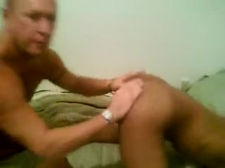 Asslicking At The Bed And Poking