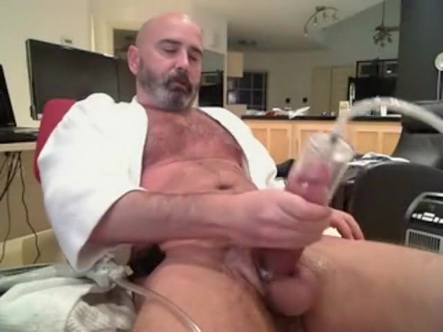 Mature Boy Frolicking And Milking Until Popshot
