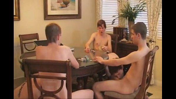 Jeunes Homosexual Domination & Submission Poker Three
