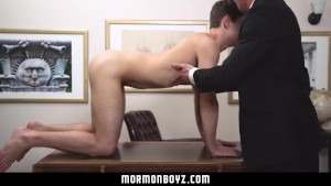 Mormonboyz- Man Submits To Corporal Inspection & Humid Boink